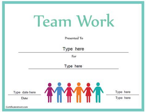 teamwork templates certificate free award certificate templates no