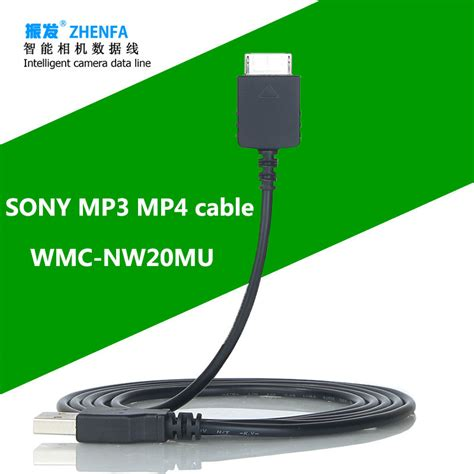 sony mp3 chargers zhenfa for sony usb charger cable walkman mp3 player nw