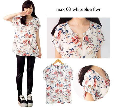 Kemeja Wanita Thick Cotton buy premium printed blouse top kemeja wanita blouse wanita pakaian wanita best seller