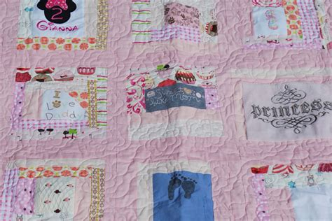 Turn Baby Clothes Into Quilt by Turning Baby Clothes Into A Quilt