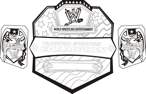 wwe coloring pages free large images