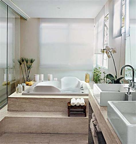modern relaxing bathroom ideas corner