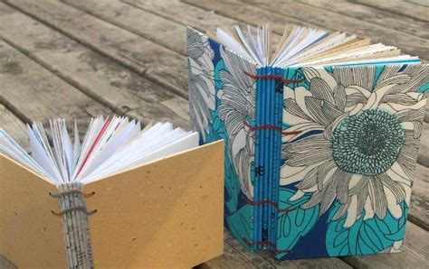 How To Make A Small Book Out Of Paper - my handbound books bookbinding books out of