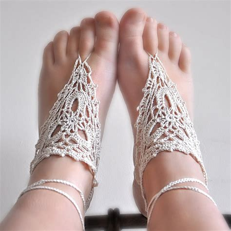 free crochet barefoot sandals crochet pattern barefoot sandals my place on earth