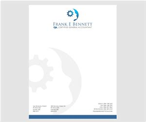 Best Office Design Ideas by Professional Upmarket Letterhead Design Design For Frank