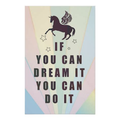 Framewoods Poster Quotes 4 if you can it you can do it poster zazzle