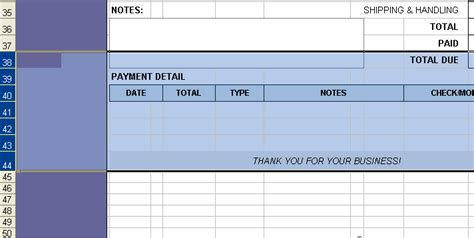 excel 2010 receipt template create a receipt form excel invoice manager