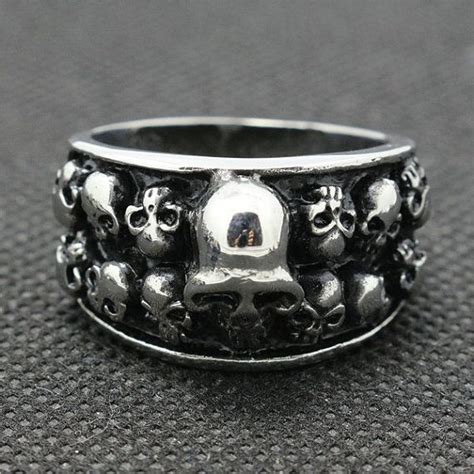 Cincin Rock Headsets Skull Eye Stainless Steel 30 best images about rings more on