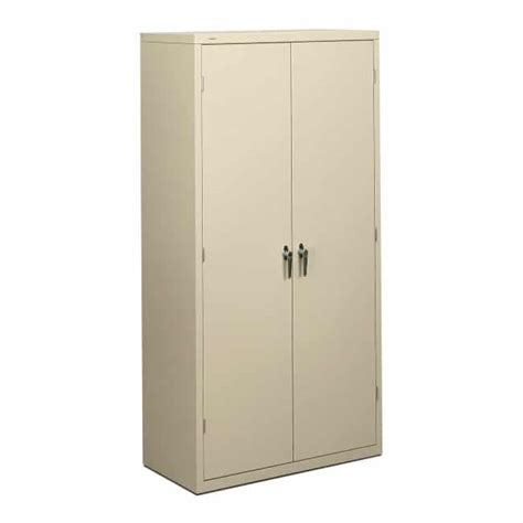 Metal Storage Cabinet With Lock Metal Locking Storage Cabinet 72 Inch Honsc1872 The Furniture Family