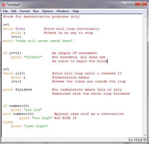 coding loop python and scratch gcse syllabus part 1 ict in