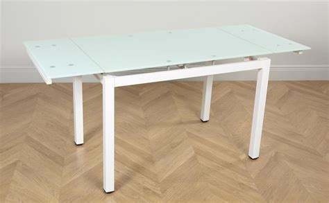 White Glass Extending Dining Table Space White Glass Extending Dining Room Table 110 170 Only 163 179 99 Furniture Choice