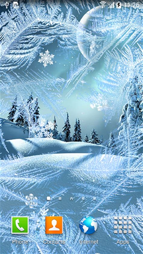 winter wallpaper for android winter by blackbird wallpapers live wallpaper for android winter by blackbird