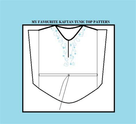 how to make a stencil template how to make a kaftan dress or top free pattern sew guide