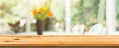 wooden board empty table top on image photo bigstock wooden board empty table top blurred background