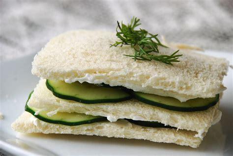 cucumber sandwiches don t have tea without them tea