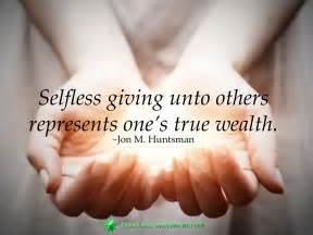 how to give better selfless giving every day getting better