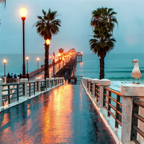 pier in san diego oceanside pier san diego county california by blayden