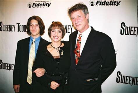 patti lupone mrs lovett with husband matt johnston and son josh photo 2005 11 04