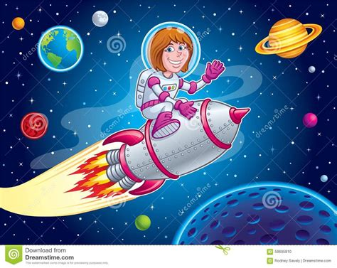 M Rocket Top space on top of a rocket ship stock photo