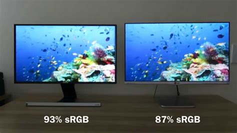 samsung v lg tv samsung s24d590 vs lg 24mp76 comparison and review