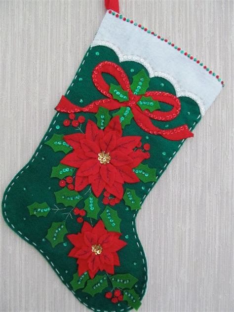 pattern for felt christmas stocking 17 best images about craft christmas stockings on