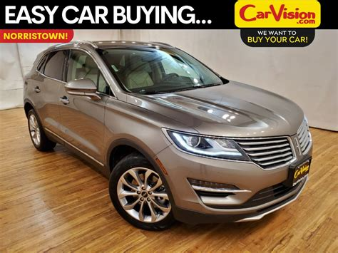 pre owned  lincoln mkc select navigation rear camera awd