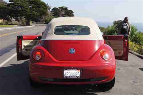 automobile air conditioning repair 2010 volkswagen new beetle instrument cluster sell used 2010 volkswagen new beetle convertible in santa barbara california united states
