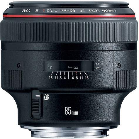 Canon Ef 85mm F1 2l Ii Usm lens rumors