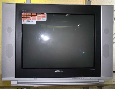 Tuner Tv Konka konka ks 29 305 29 quot slim fit flat crt tv with free stand fan cebu appliance center