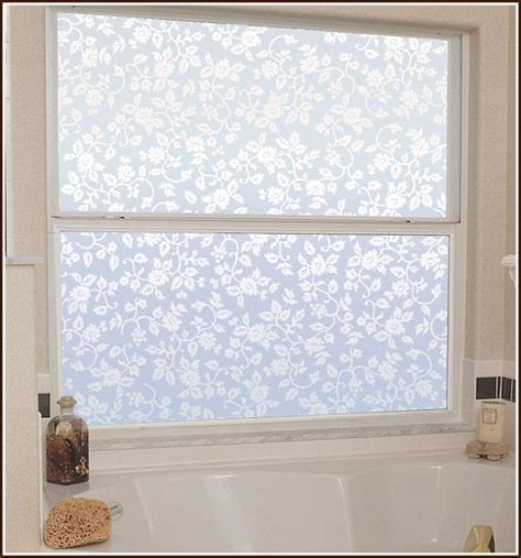 privacy bathroom window film new floral eden privacy etched glass decorative window