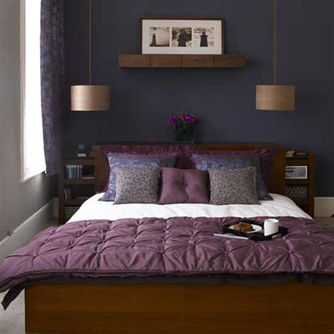 Purple Bedroom Decor Ideas by Purple Bedroom Decoration Home Design Inside