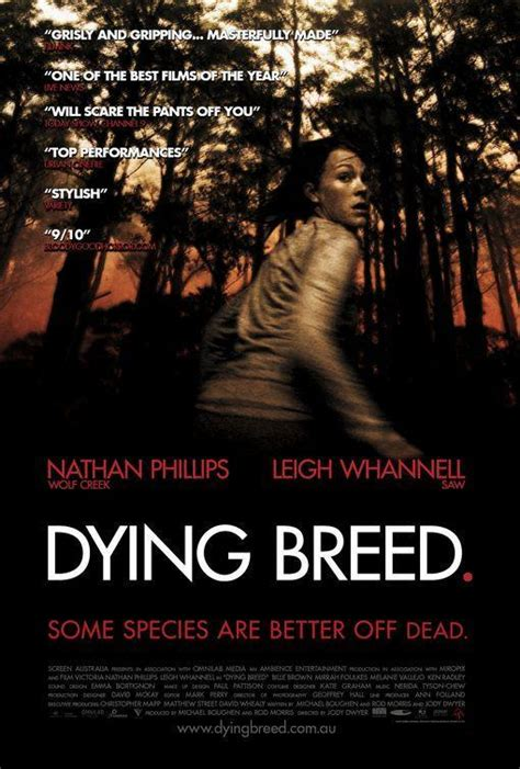 leigh whannell filmaffinity cr 237 ticas de dying breed 2008 filmaffinity