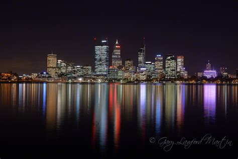 perth lights perth city lights gary lawford martin