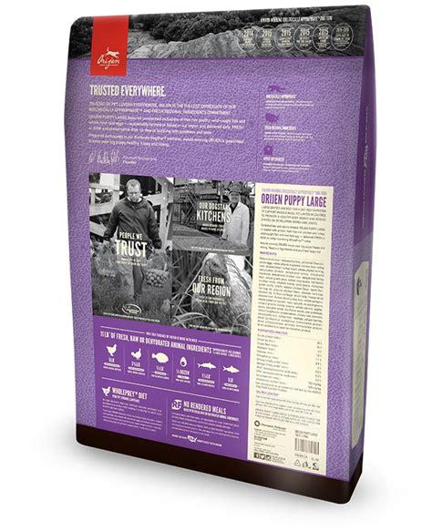 orijen puppy food where to buy high protein large breed puppy food orijen
