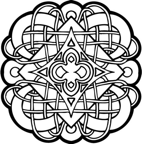 printable coloring pages celtic designs free printable celtic cross coloring pages clipart best