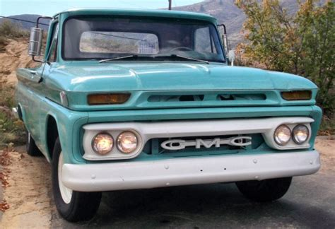 1964 gmc 1 2 ton with original 305 v6 motor