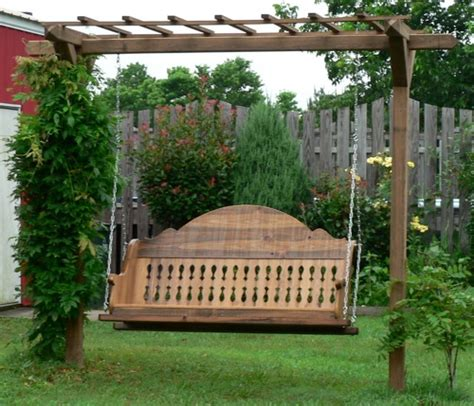 unique outdoor swings home design interior monnie unique wooden porch swings ideas