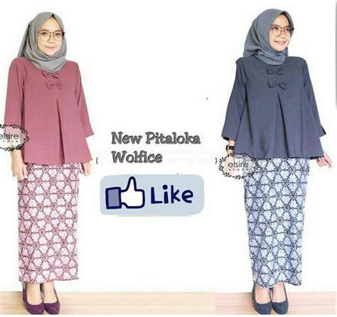 Baju Atasan Tunik Blouse Pe11 baju muslim atasan tunik terbaru new pitaloka model baju