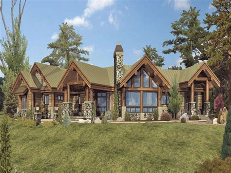 One Story Log Home Floor Plans One Story Log Homes Plans House Design Home Floor Single Designs Best Free Home Design