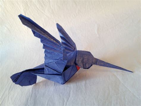 How To Make A Paper Hummingbird - hummingbird origami