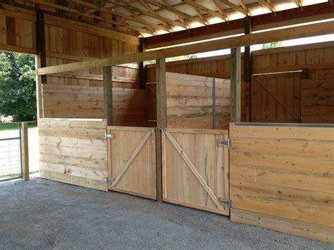 Horse Stalls Z N Cobb Builders Barn Stall Doors