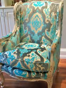 Velvet Wingback Chair Design Ideas Dreste Designs An Antique Wing Chair And Happy S Day
