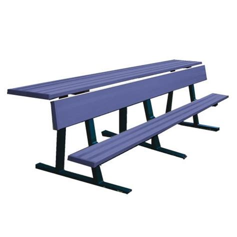 player benches jaypro sports pbs 80pc powd ct player bench with shelf