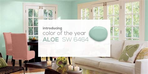 sw 2013 color of the year aloe sw 6464 paints colors pintere