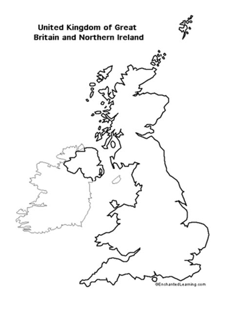 template of uk map blank map of britain by jpspooner teaching resources tes