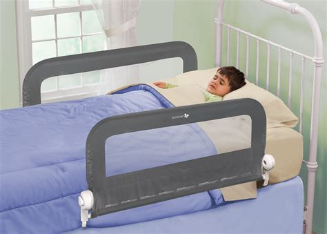 double bed rail grow with me double bedrail grey summer infant baby products