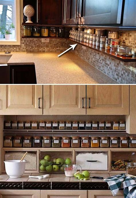 kitchen countertop storage ideas best 25 kitchen organization ideas on home