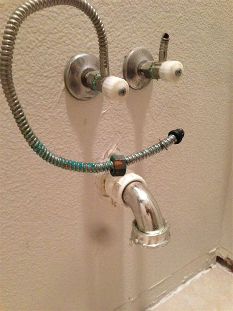 bathroom sink supply line plumbing what s the best way to replace this sink supply