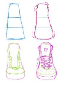 how to draw heels sneakers front view guide by yummytomatoes drawing