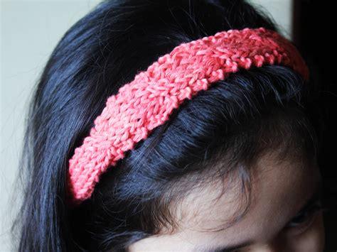 how to knit headbands 4 ways to make a headband wikihow